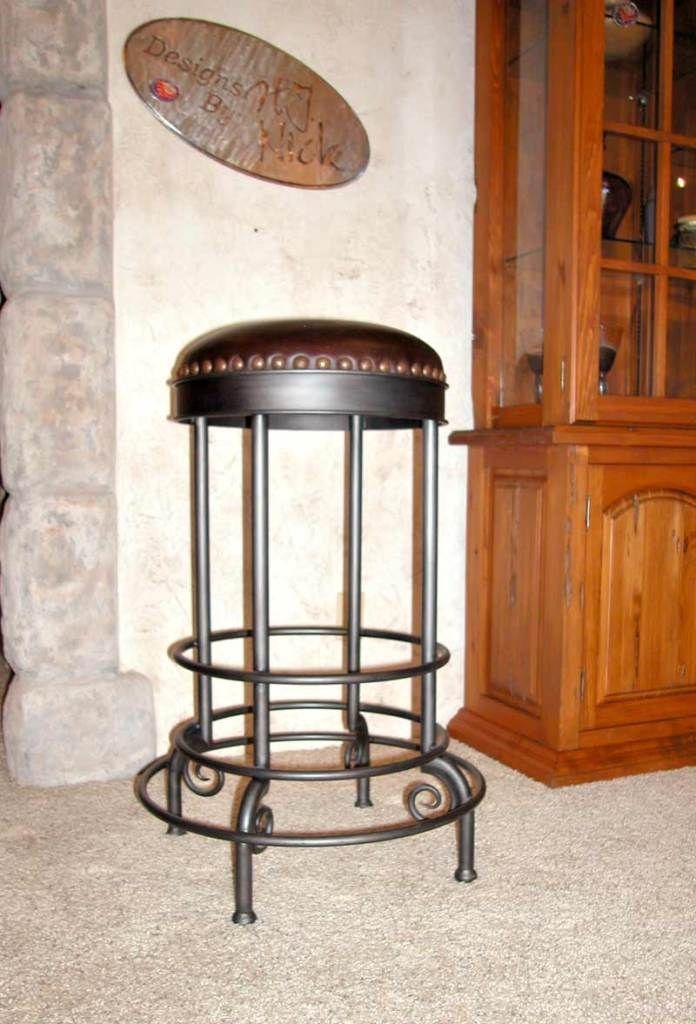 Interior Stunning Black Wrought Iron Swivel Bar Stools from Wrought Iron Bar Stools For Style Of The Bar & Best 25+ Wrought iron bar stools ideas on Pinterest | Welding ... islam-shia.org