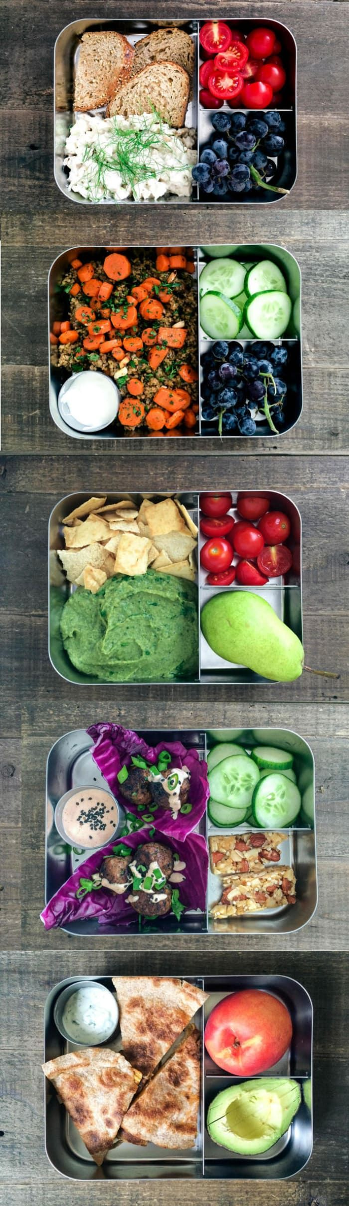 We love this five-day meal plan.