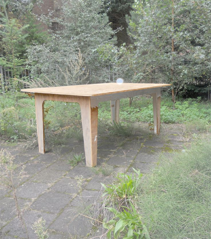 Tafel underlayment eenvoudig - Niek de Jong.com