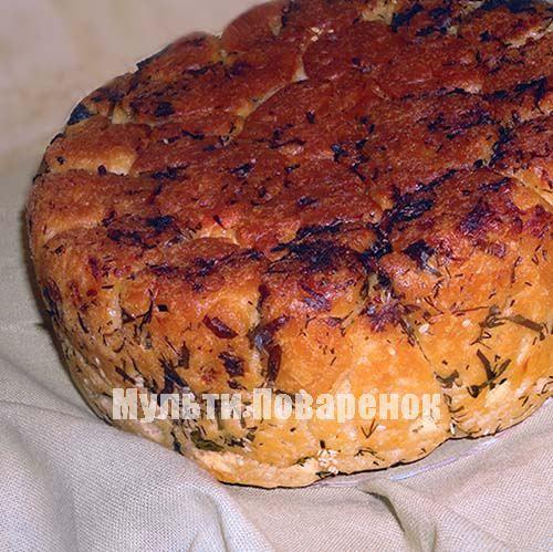 Обезьяний хлеб в мультиварке