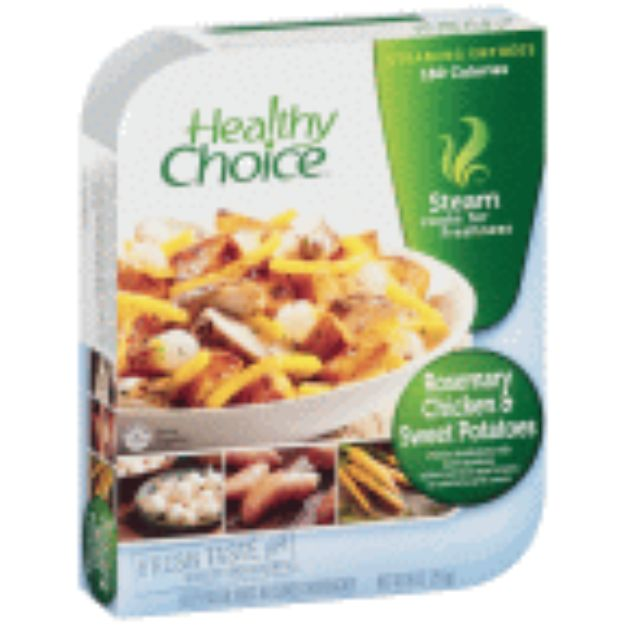 I'm learning all about Healthy Choice Steamers Rosemary Chicken