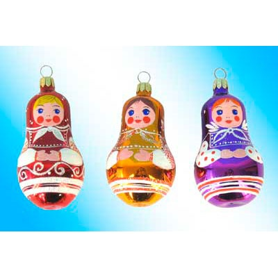 Christmas Tree With Glass Ornaments