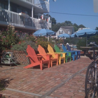 Provincetown Rainbow Chairs
