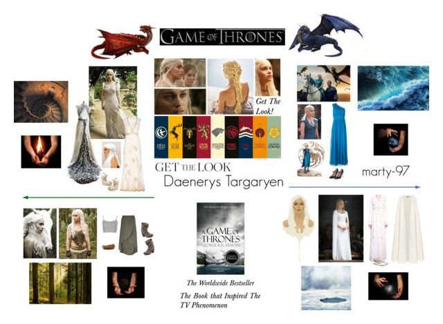"""""""Get The Look! Daenerys Targaryen - Game Of Thrones"""" by marty-97 ❤ liked on Polyvore featuring Attico, Diane Von Furstenberg, Halston Heritage, Artista, Charles by Charles David and La Mania"""