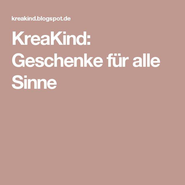 KreaKind: Geschenke für alle Sinne