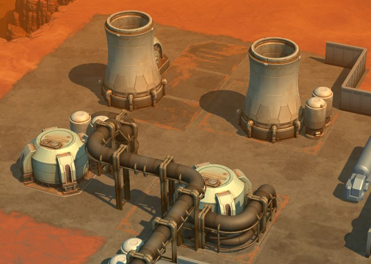 Some new environmental assets (cooling stacks, pipe sets, and smart …   – Other Environment's