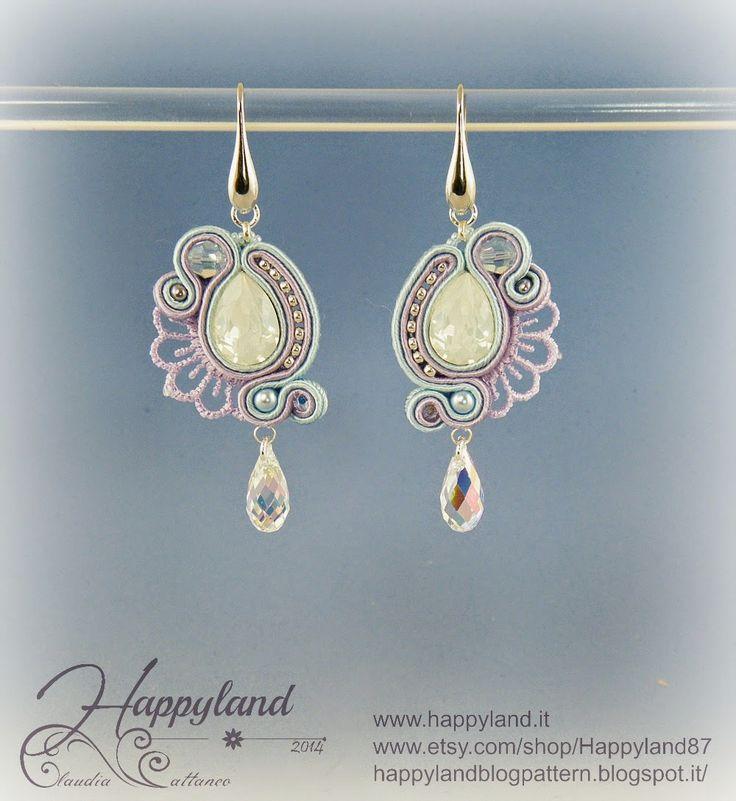 Le gioie di Happyland: Soutache Drops&Lace