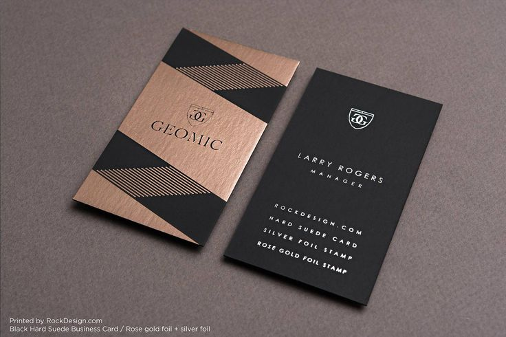 Hard Suede Business Cards | RockDesign Luxury Business Card Printing