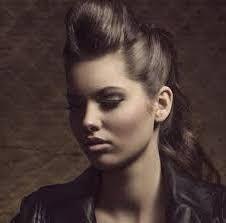 peinado pin up con tupe - Peinados Pin Up