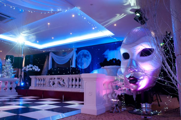 Black Amp White Masquerade Ball At The Auction House Photo