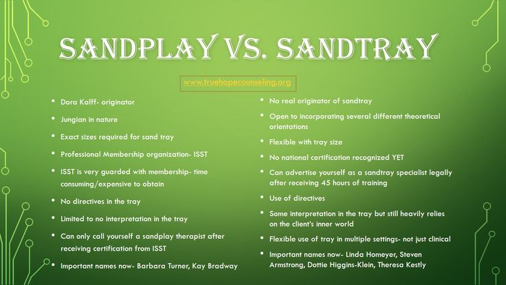 Sandtray and sandplay therapy are two distinctways ofdoing therapyin the sand. Have you ever struggled to explain the differences between the two methods? Or were you even aware that there are subtle but important differences? To be fully informed therapist working in the sand, you need to know how to explain who you are (sandtray...