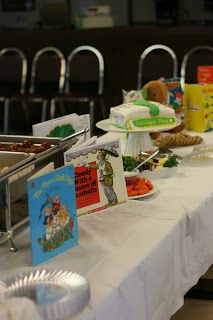 The Journey....: Build a library baby shower