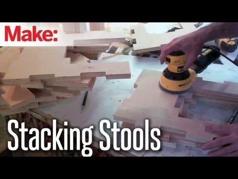 DiResta: Stacking Stools - YouTube