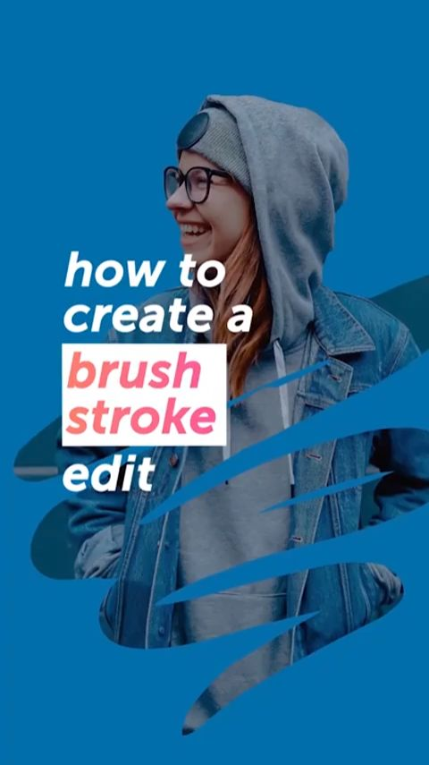 How To Create A Brush Stroke Edit In Under 5 Minutes 🖌✨