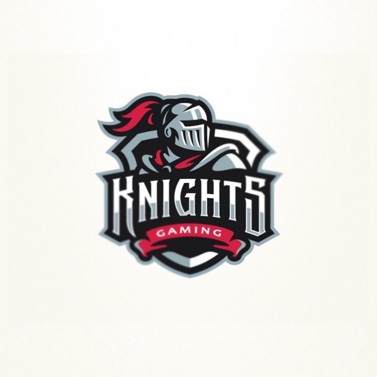 Follow us @logoinspirations Knights Gaming by @graphicmaniac - ONLINE COURSE http://ift.tt/2geIf0d - LEARN LOGO DESIGN @learnlogodesign @learnlogodesign