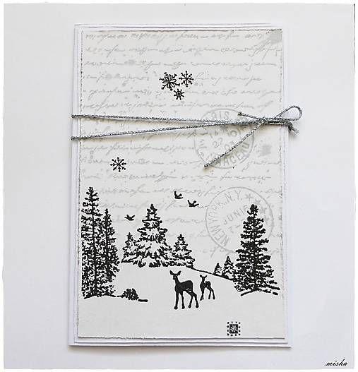 misha_cards / *Biele Vianoce*