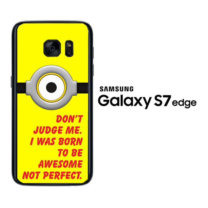 Minion Eye Z2883 Samsung Galaxy S7 Edge Case