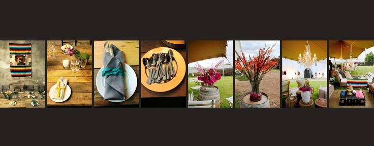 #mayan#gold#flowers#napkins#winebarrels www.eventsandtents.co.za
