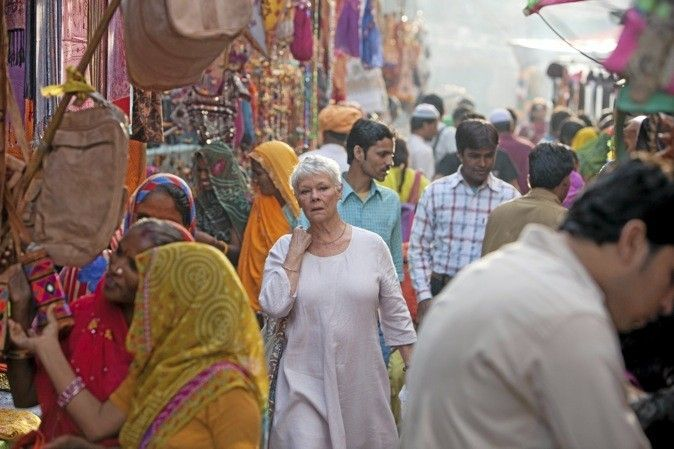 The great Dames of British film, Judi Dench, Maggie Smith and Helen Mirren, all have acting nods for ' The Best Exotic Marigold Hotel', ' Quartet' and ' Hitchcock' respectively. Description from chariweb-entertainment.blogspot.com. I searched for this on bing.com/images