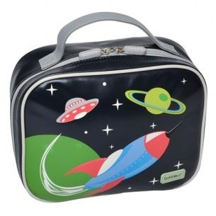 Bobble Art Lunch Box - Rocket, Children's Lunch Boxes
