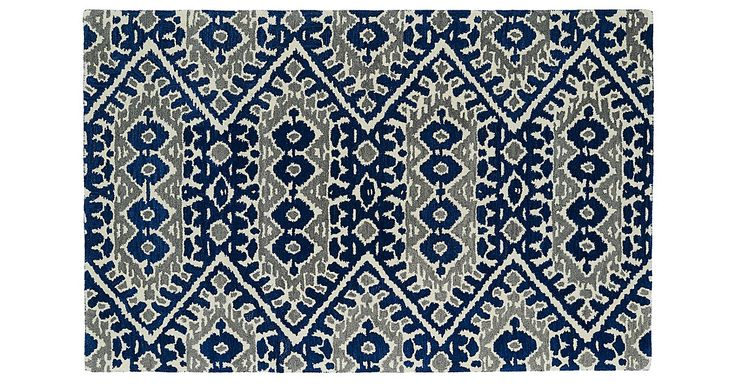 Add impact to any room with this cool, contemporary rug in bold, fashion-forward hues. A rug pad is recommended to keep this foundation securely in place.