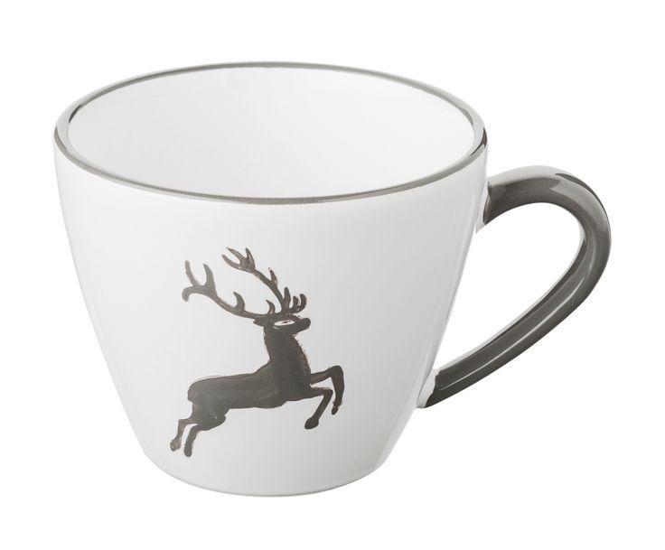 Genießen Sie die österreichische Kaffeekultur mit der Kaffeetasse Gourmet GRAUER HIRSCH. Große Auswahl an Gmundner Keramik bei WestwingNow.