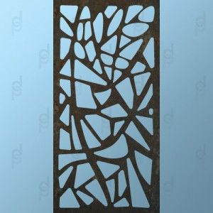 Decopanel - architectural panels & decorative panels. Crazy Pave