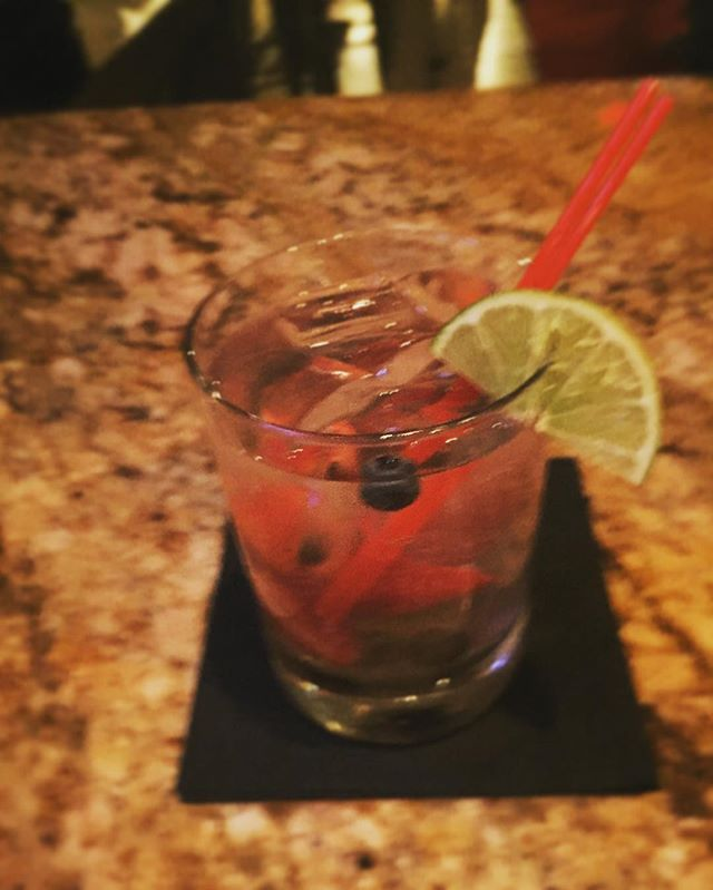 The sun might be down but it's still feeling like summer at Silence Dogood's! $8 Fresh Mixed Berry Mojito with mint, lime and a special blend of rum  #silencedogoods #phl #philly #cheers #montepulciano #phillybarscene #drinklocal #cocktails #drinkup #oldcity #oldcitypub #oldcityphilly #visitphilly #wino