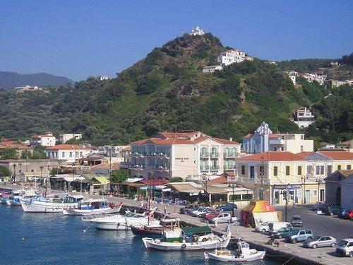 Karlovasi Samos Greece