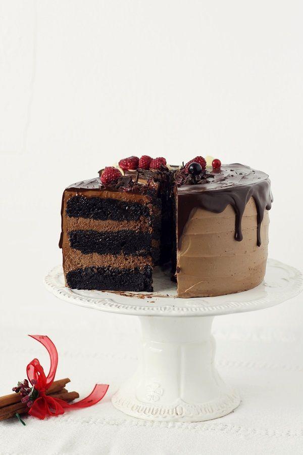 Торт с шоколадным муссом и ароматом апельсина | Страсть к кухне