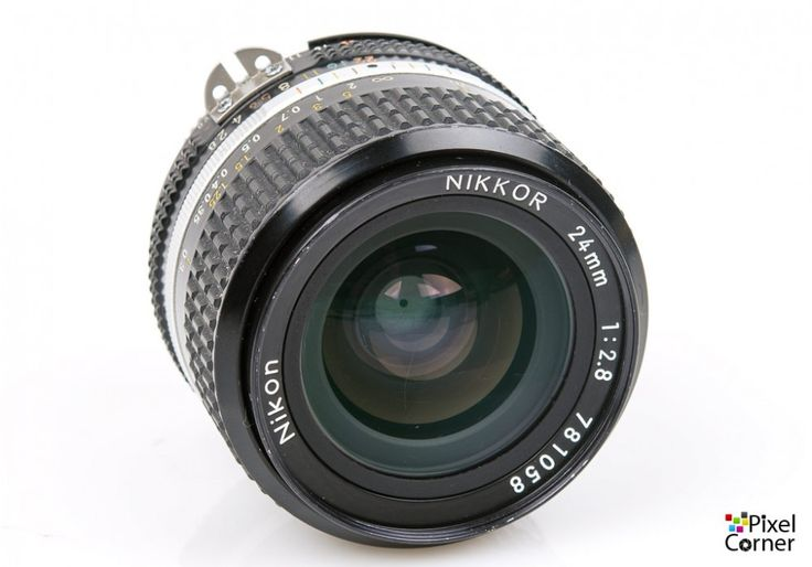 Nikon 24mm f/2.8 Ai-S Nikkor wideangle prime lens MF, FX, DX & Film 781058