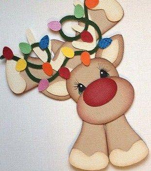 Paso a paso y moldes... Solo con dejarnos tu comentario y tu correo...   Para que decores en esta linda Navidad