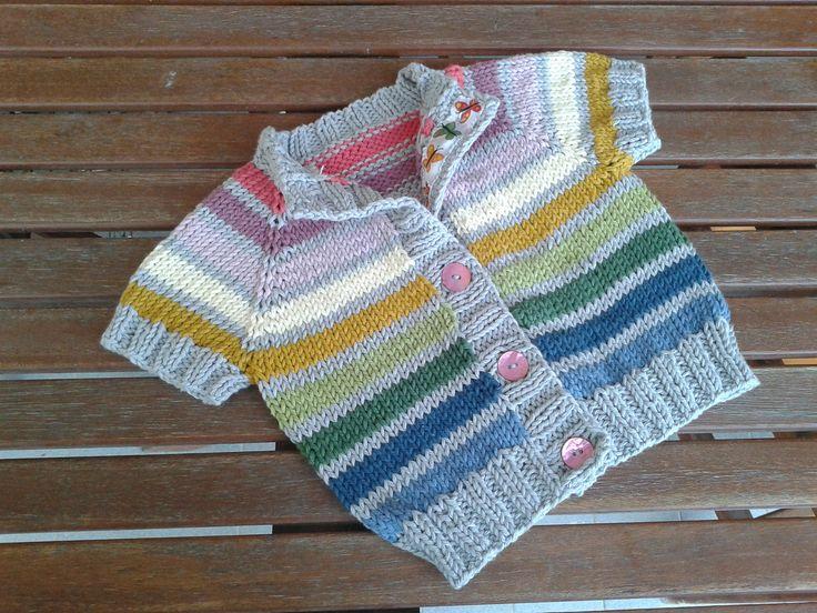 Ravelry: Athele's Rainbow Cardigan