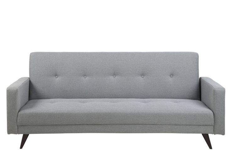 Funktionelles Design-Sofa Mit dem Sofa Leoni holen Sie sich Retro Feeling beim Sitzen und Liegen ins Haus. Augenmerk ist die Geradlinigkeit im Stil der 60er/70er Jahre mit den aufgesetzten Knöpfen in der Rückenlehne. In...