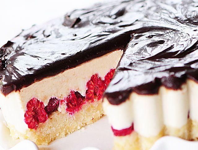 White Chocolate Dark Chocolate Raspberry TartRaspberries Tarts, White ...