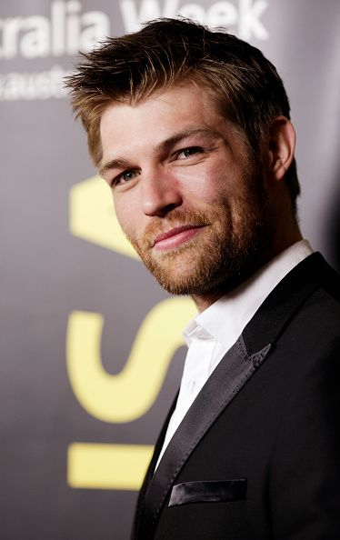 Liam McIntyre arrives on the red carpet at the 9th Annual G'Day USA Black Tie Gala