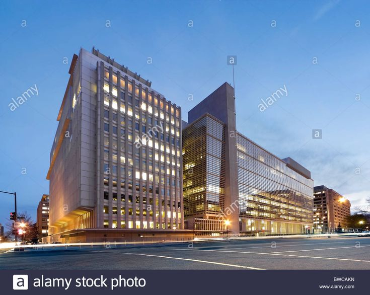 Download this stock image The World Bank Building