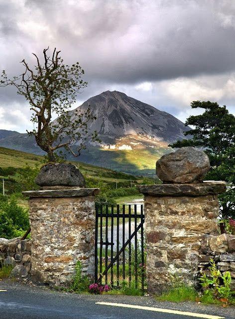 Mt Errigal Co Donegal Ireland