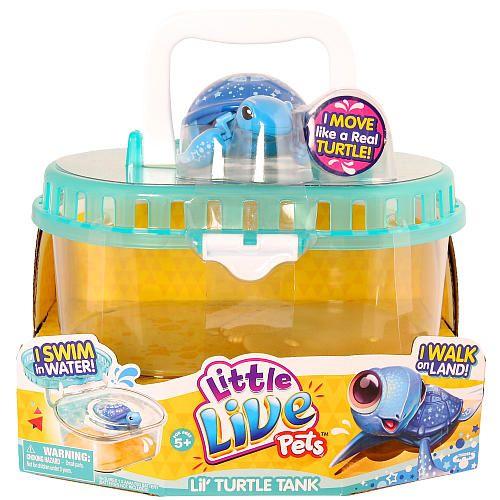 "Little Live Pets Turtle Tank - Moose Toys - Toys ""R"" Us"