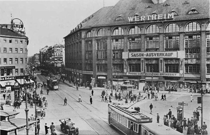 Der Moritzplatz (Luisenstadt) 30er Jahre