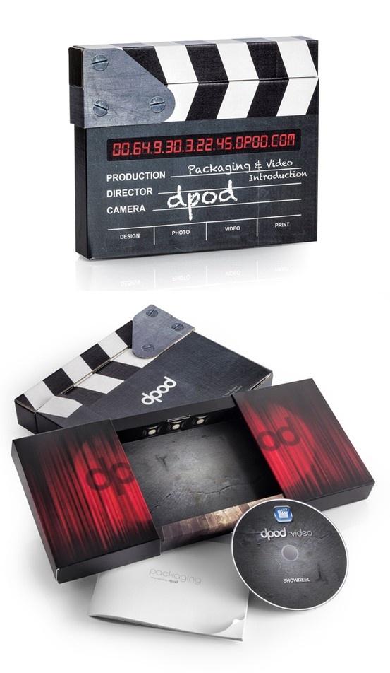 Cardboard Clapper Board | Packaging of the World