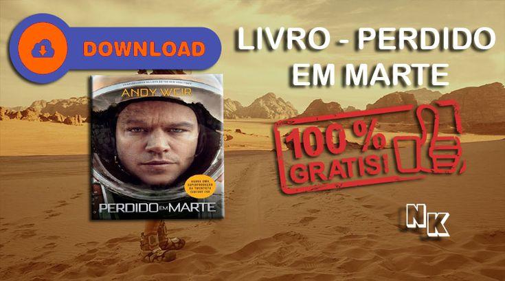 Download do Livro Perdido em Marte de Andy Weir – Nerd king