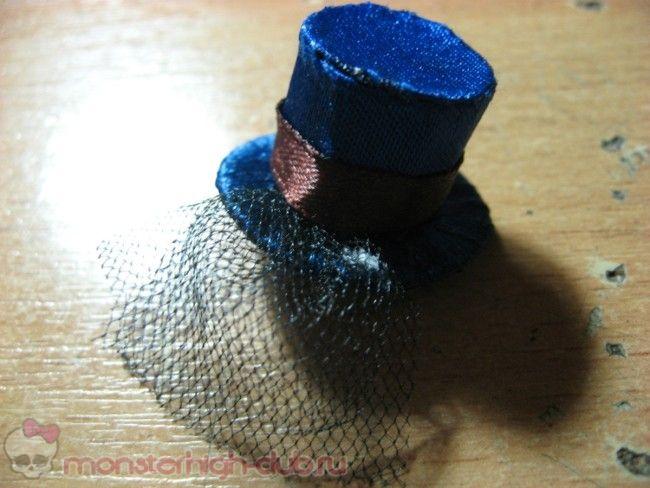 Шляпка для костюма в стиле стим-панк Робекки Стим