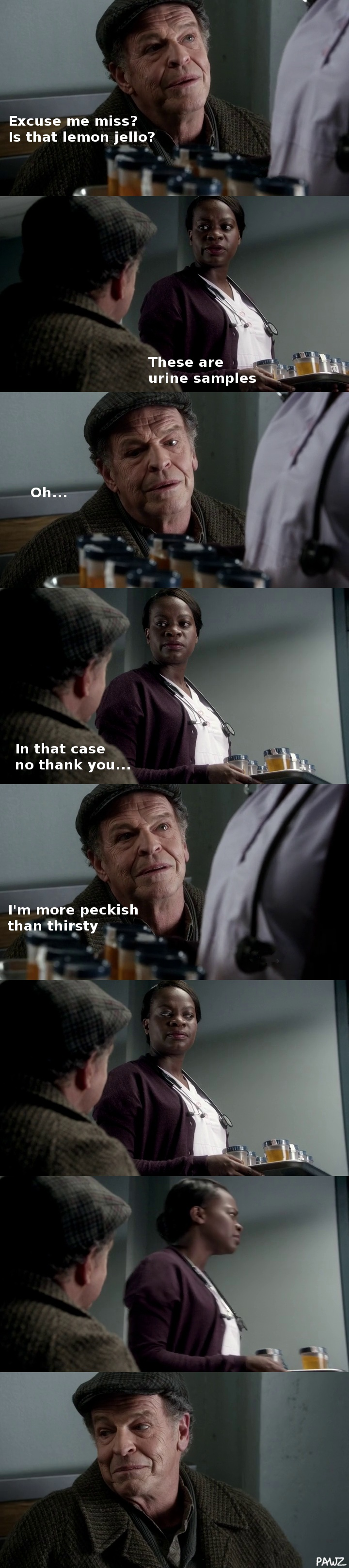 Another 'Walter-ism' I made after re-capping on last season. Walter Bishop in Fringe.
