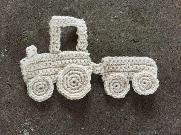 Hæklet traktor Crochet