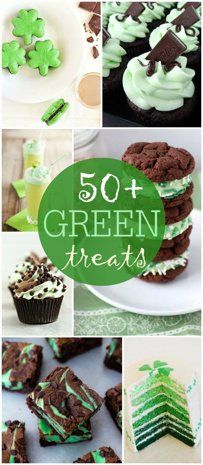50+ Green Treats perfect for St. Patrick's Day { lilluna.com } #stpatricksday