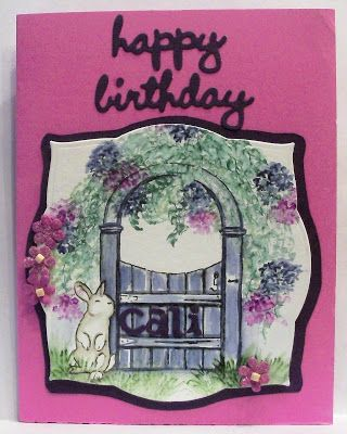 For the Love of Cardmaking: My Nieces birthday card