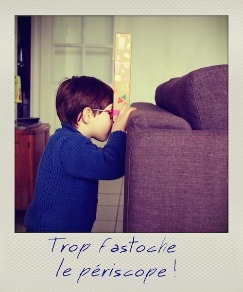Créez un périscope avec 3 fois rien pour le plus grand bonheur de votre enfant ! Découvrez tous les autres ateliers C-MonEtiquette.