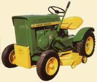 John Deere 110 lawn and garden tractor introduced in 1963