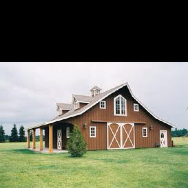 17 best images about barn home redo on pinterest for Metal buildings made into houses